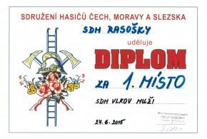 Diplomy ze soutěží