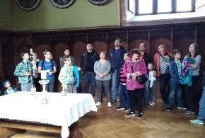 Výlet na hrad Bouzov a do Javoříčských jeskyní 22.9.2018