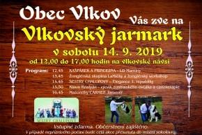 Vlkovský jarmark 14.9.2019